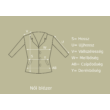 H&M fekete színű modern blézer (Méret: M)