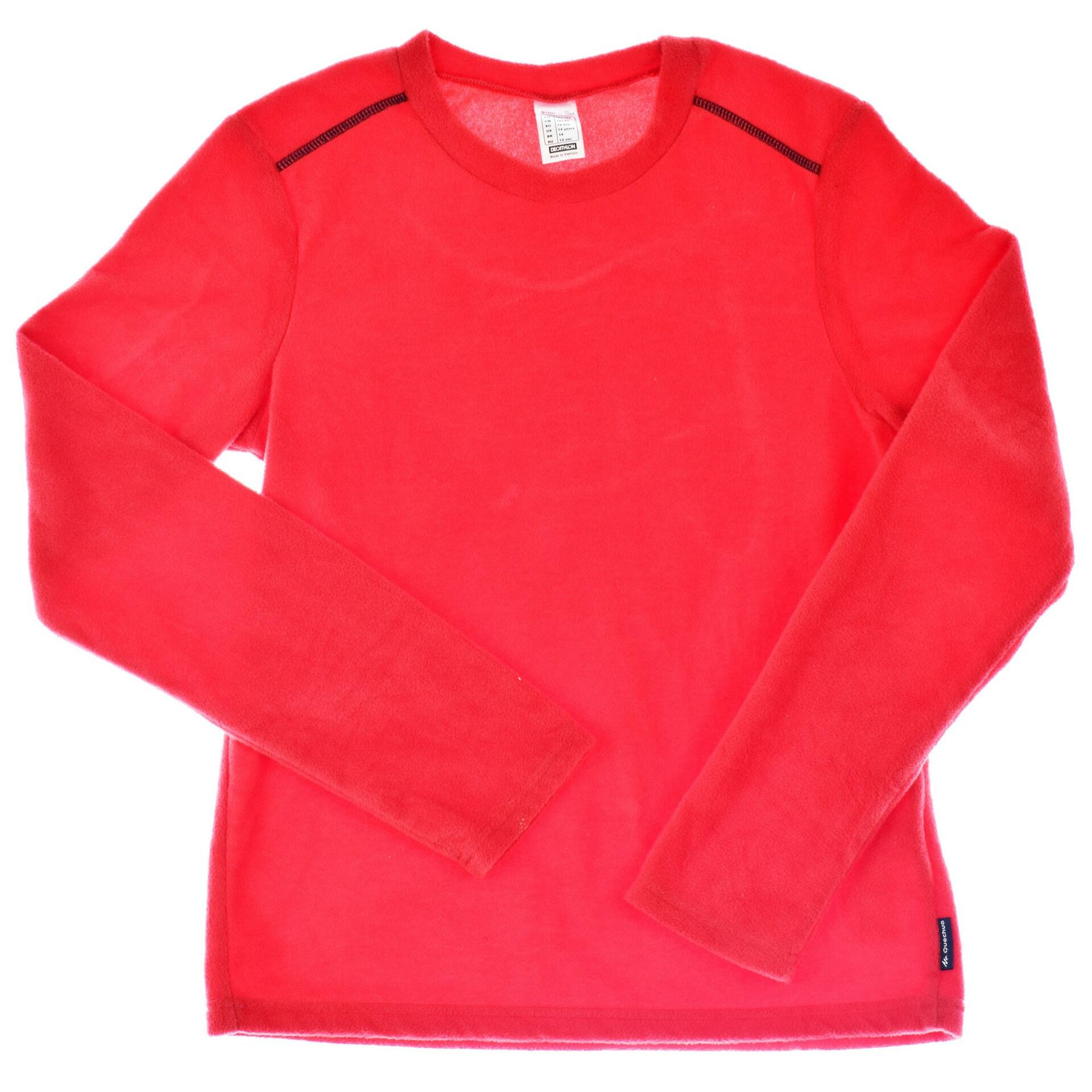 DECHTLON piros pulóver (Méret  14év (164)) - Lány póló 58842fbcc8