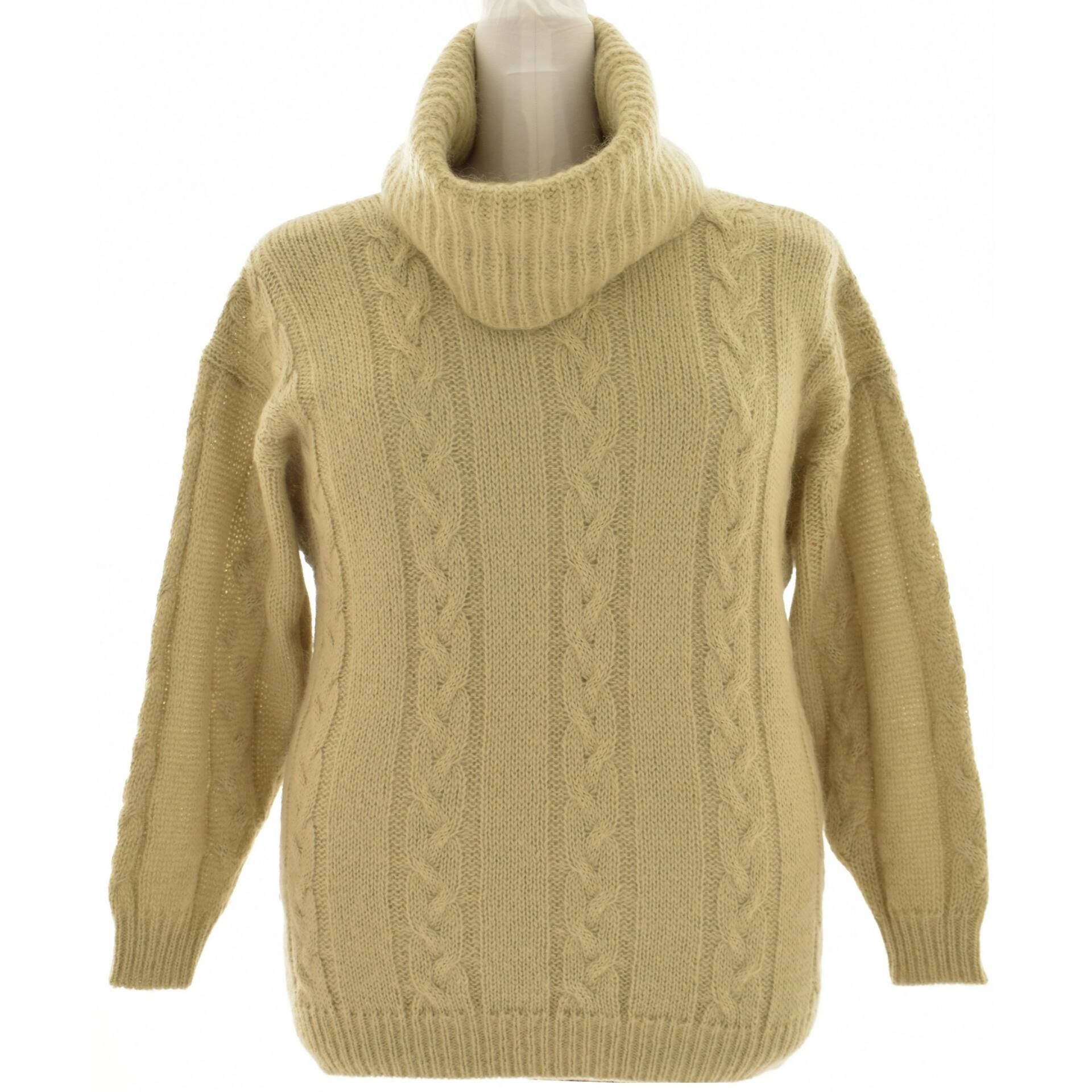 DIDI bézs színű kötött pulcsi (Méret  XXL) - Női pulóver 45800c72b3
