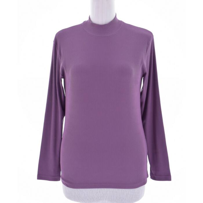 BONITA lila színű bordázott felső (Méret  M) f34272c941