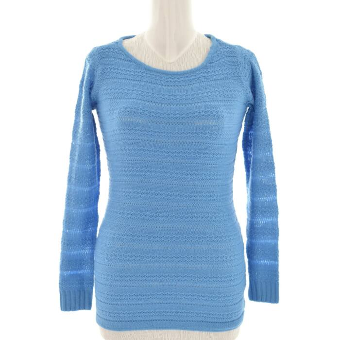 ONLY kék színű kötött női pulóver (Méret  S) c82af020dc