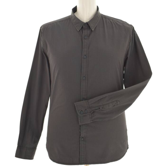 REFILL AUTHENTIC fekete színű anyagában pöttyös ing (Méret  L) e775a4b7d4