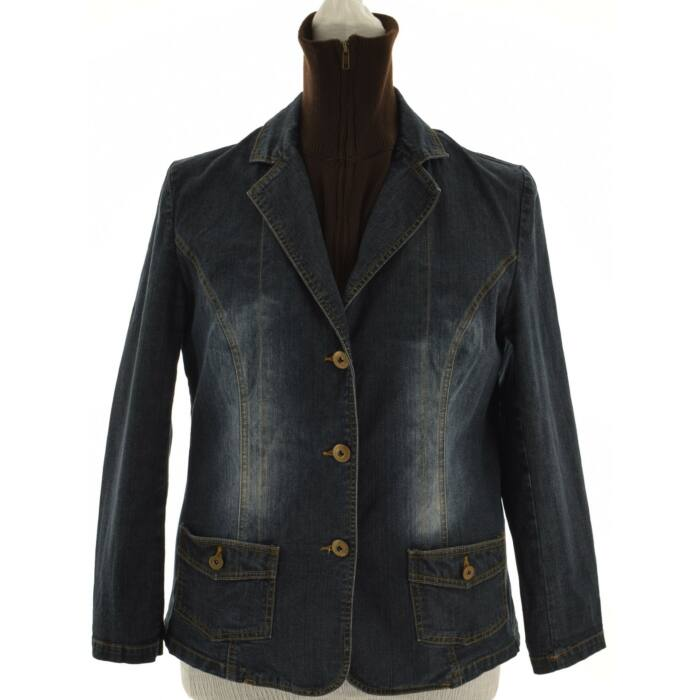 6ae3b033ee MISS ETAM szürke színű bunda (Méret: L) - Női dzseki, kabát, blézer ...
