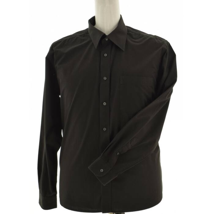 ROYAL CLASS fekete férfi ing (Méret: XXL)
