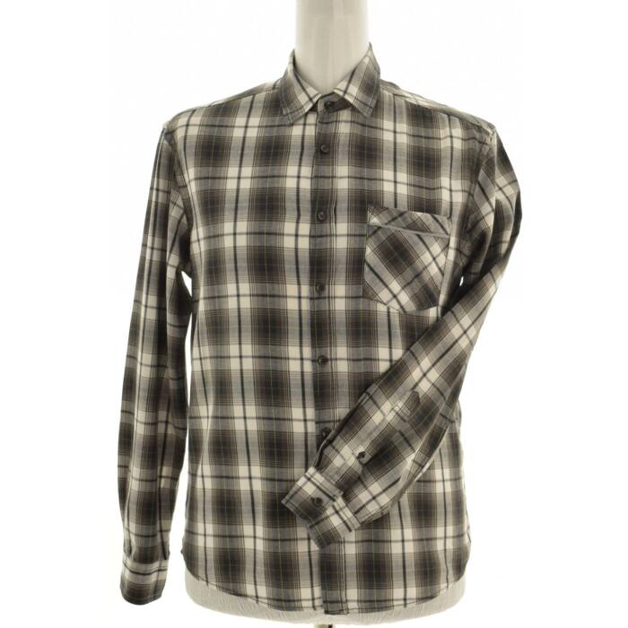 WATSONS szürke-fehér kockás férfi ing (Méret: M)